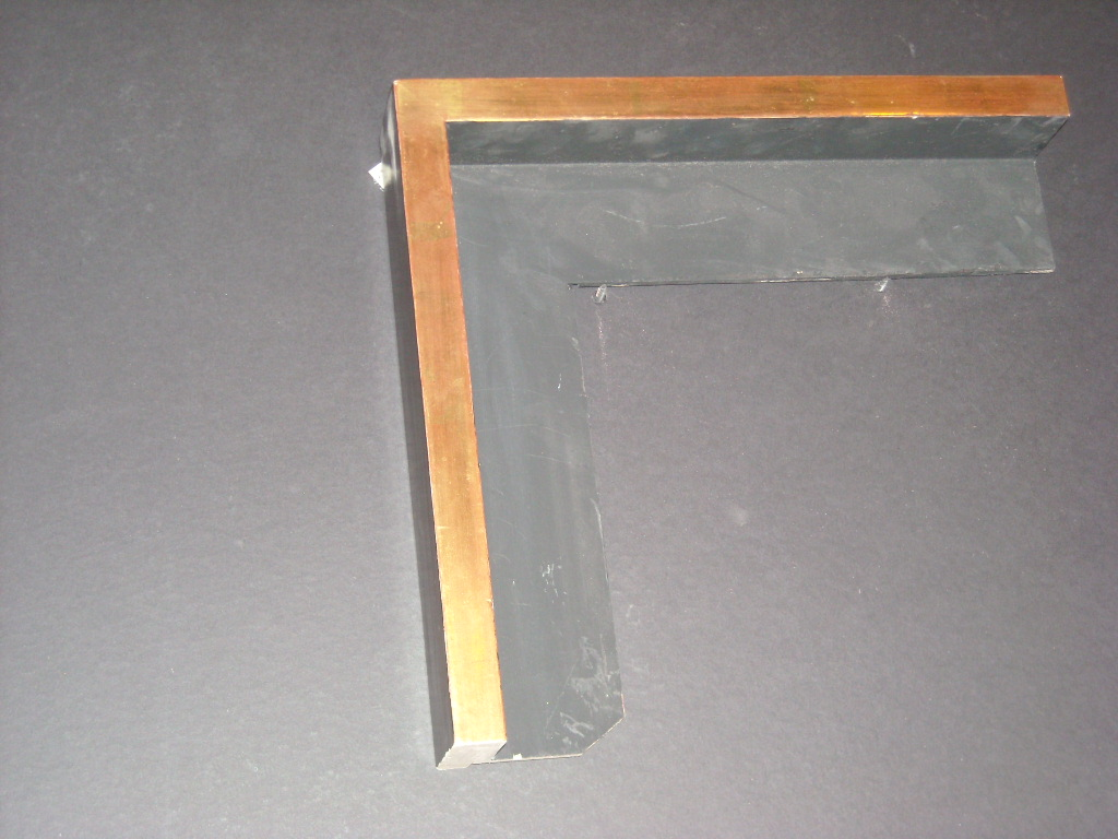 RP198   (3/6 by 2inch)   floater frame (highlights the canvas surface of art)
