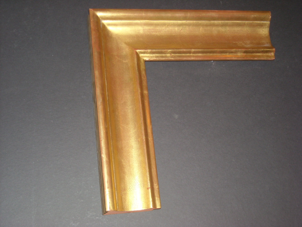 RP35   (3 1/2inch)   solid wood gold frame