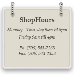 Frame shop hours